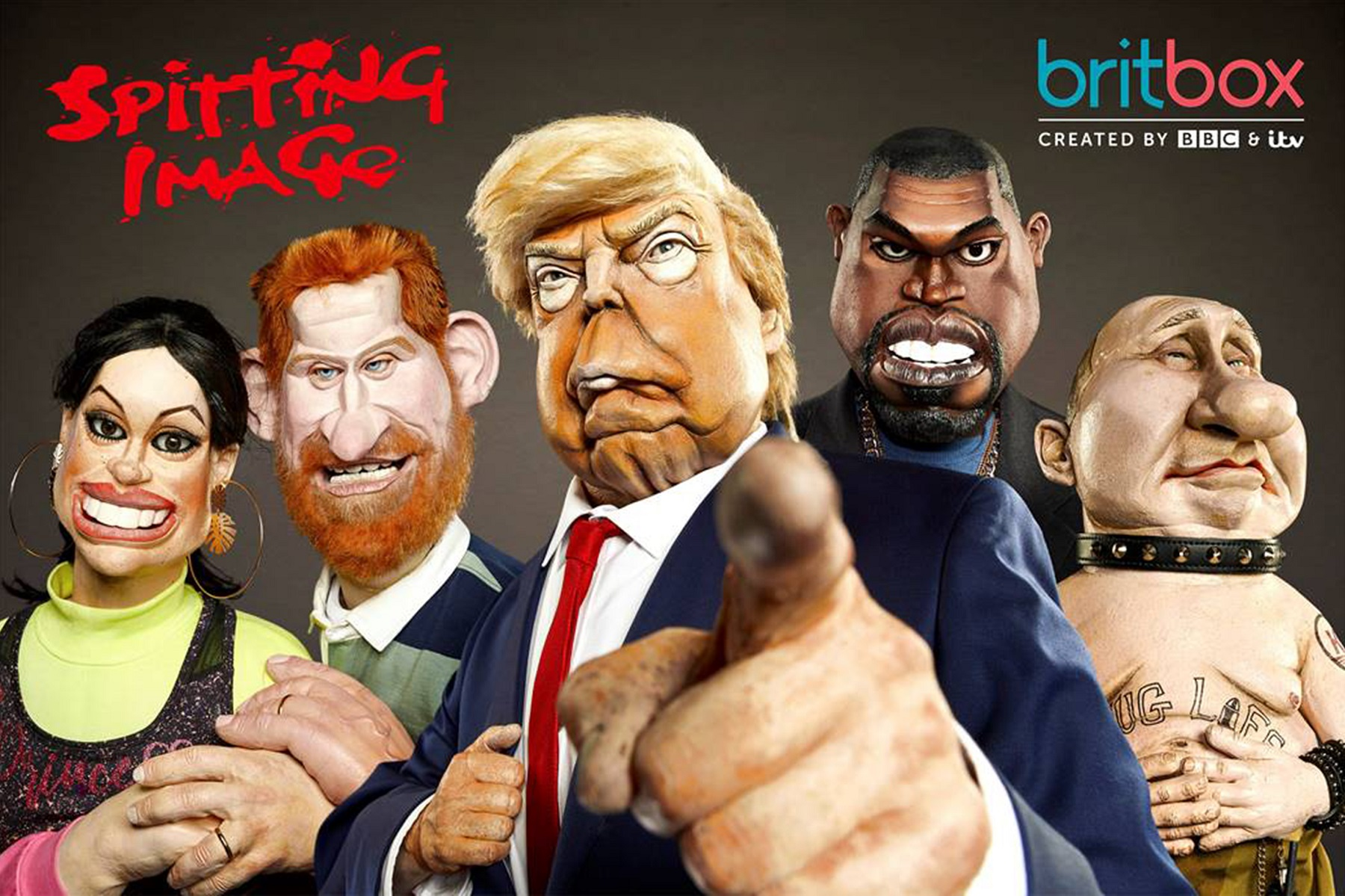 Spitting Image: Watch New Episodes for Free on YouTube Right Now