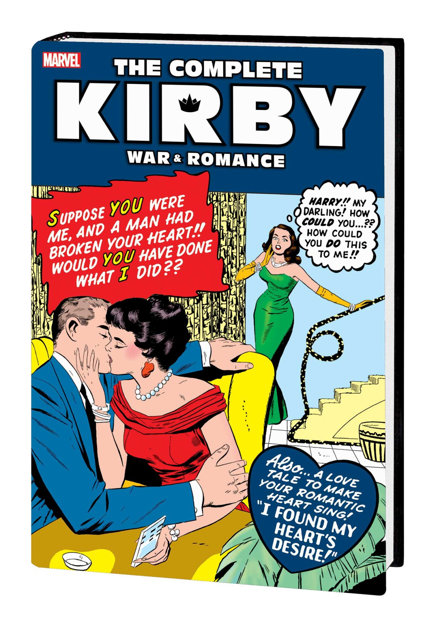 Marvel Publish Complete Jack Kirby War And Romance – Almost?