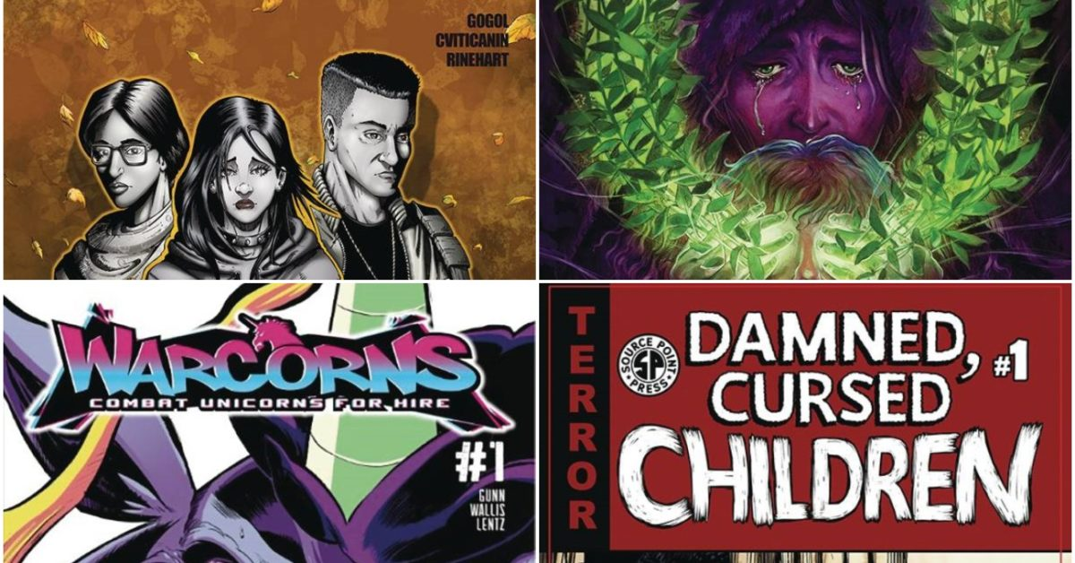 Source Point Press Launch Four Comics in January 2021 Solicitations