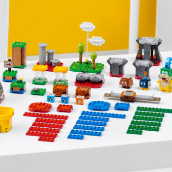 Build Your Own Super Mario Bros. Level With New LEGO Set