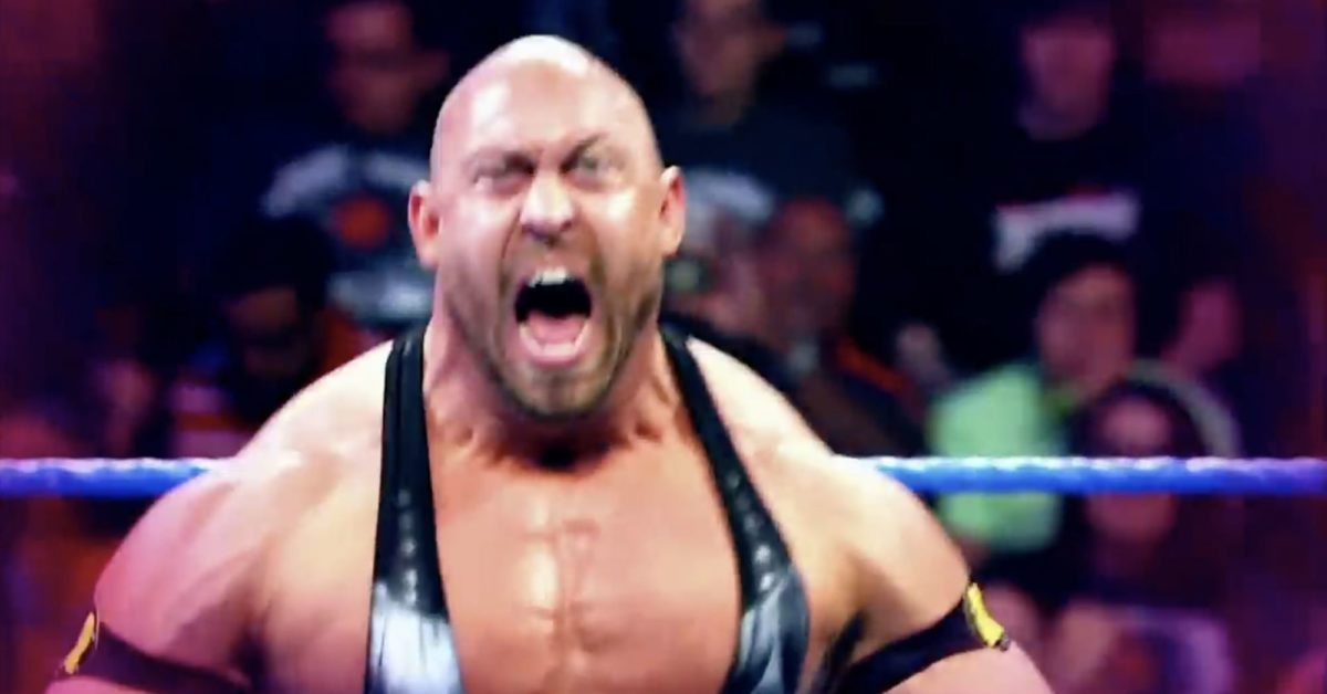 Ryback Bashes COVID Shutdown, Promotes His Supplements Instead