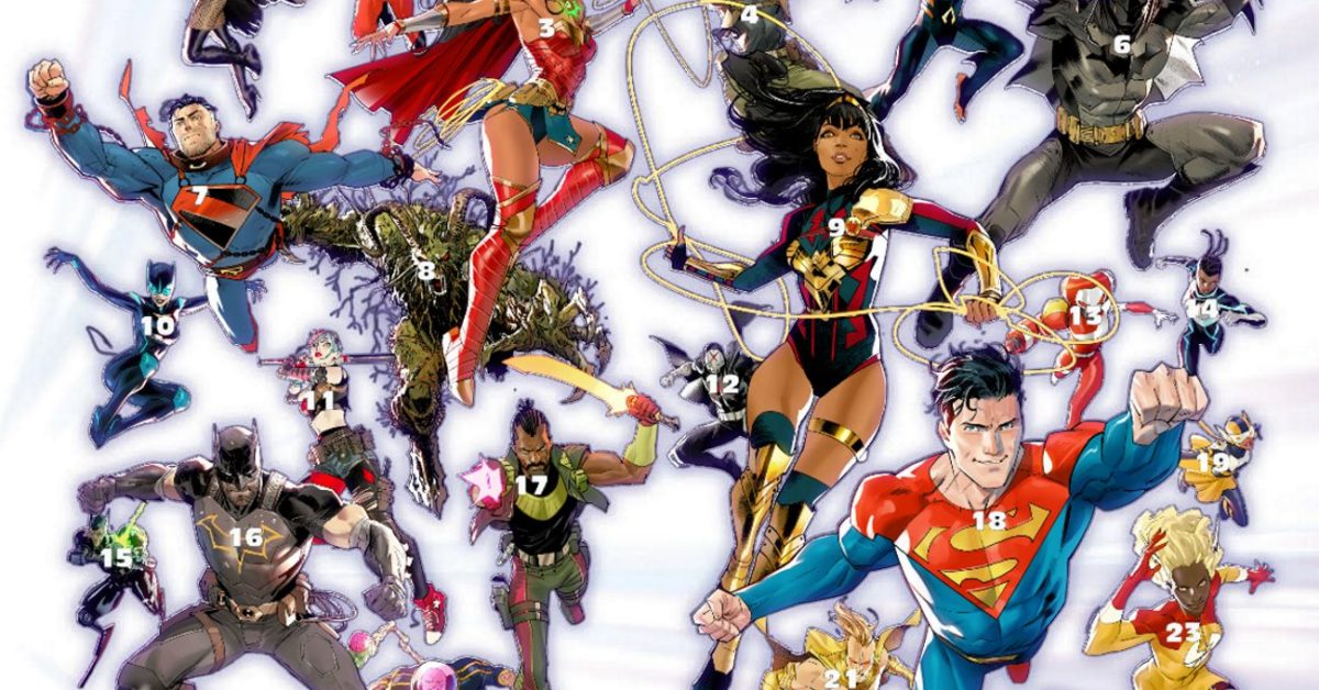 Who's Who In DC Comics' Future State? And When?