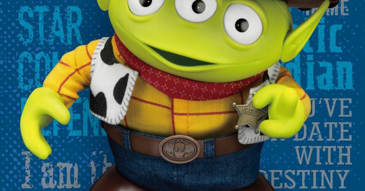 Alien Remix Toy Story Woody Beams Up With Beast Kingdom bleedingcool.com