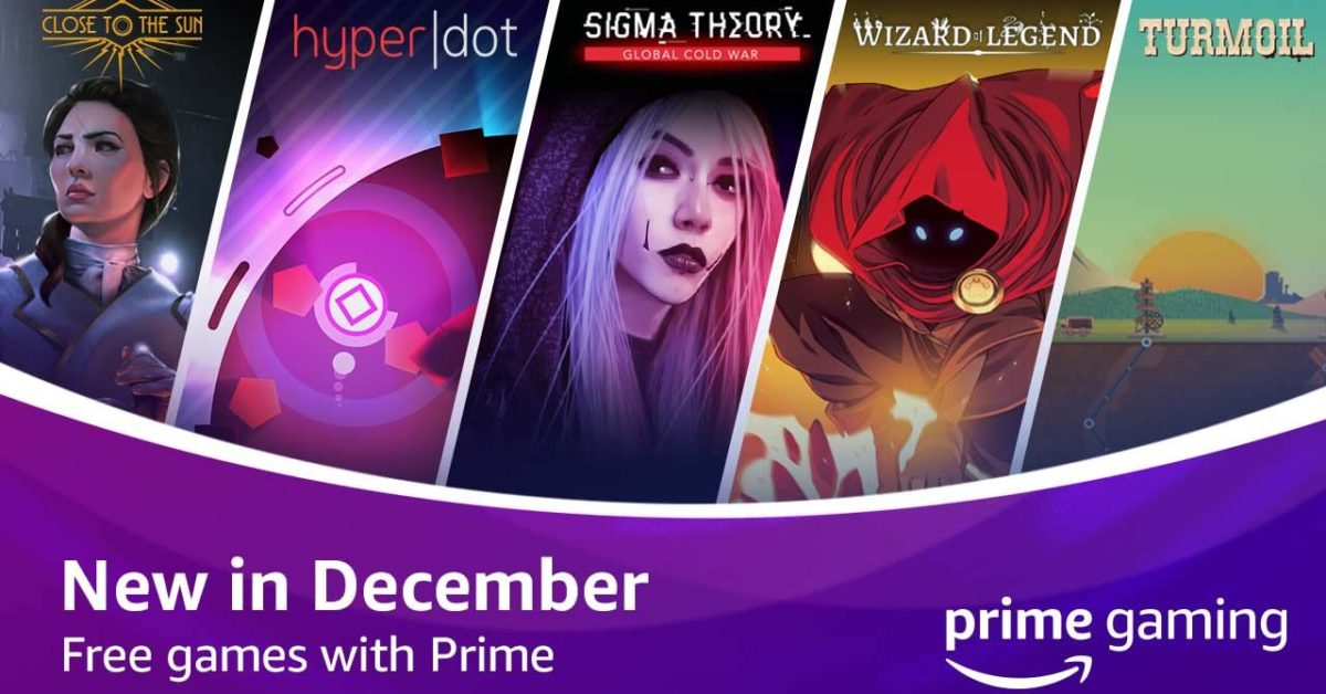 Twitch Reveals Prime Gaming Free Titles For December 2020