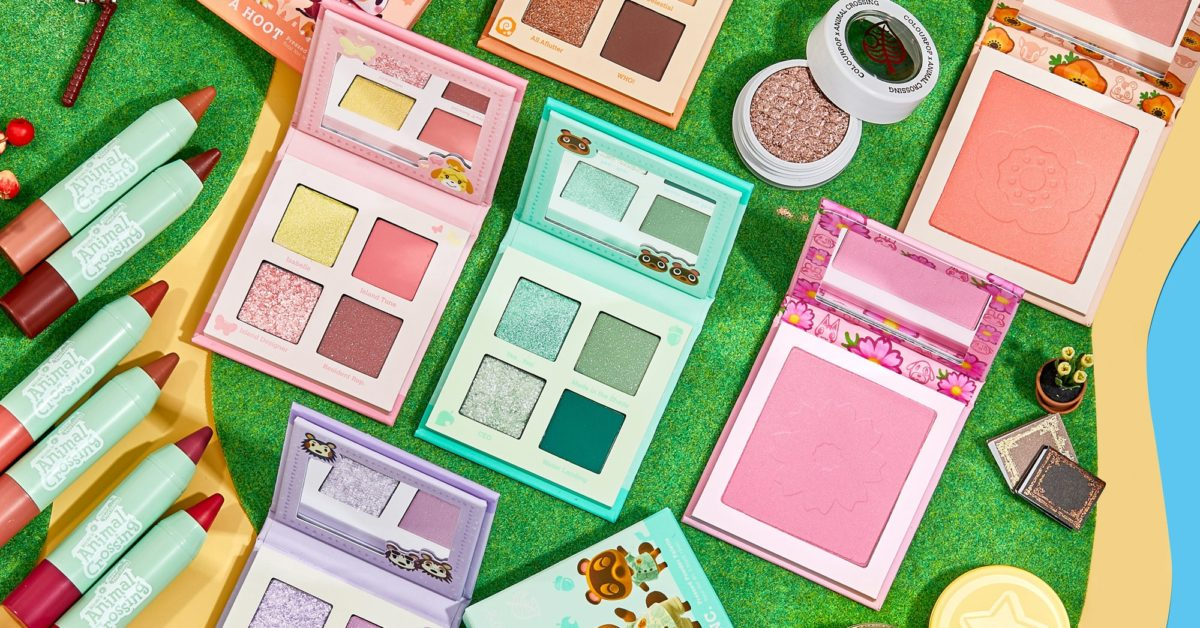 Animal Crossing: New Horizons Is Getting A Makeup Line