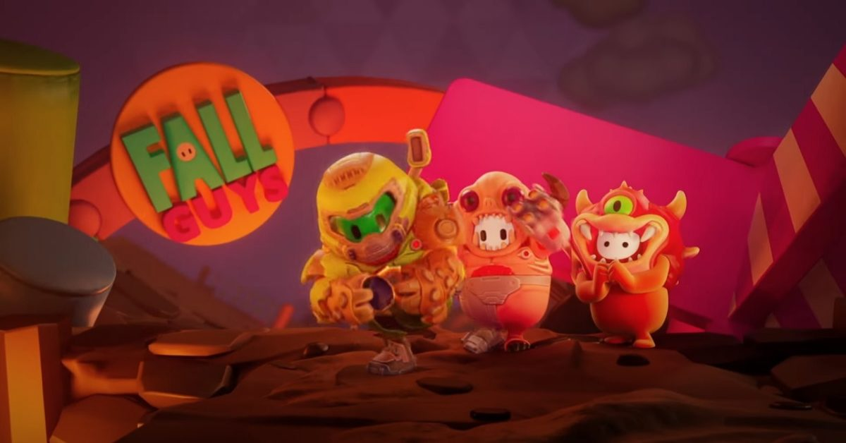 Fall Guys Is Going To Hell With Three New DOOM Costumes - Download Fall Guys Is Going To Hell With Three New DOOM Costumes for FREE - Free Cheats for Games