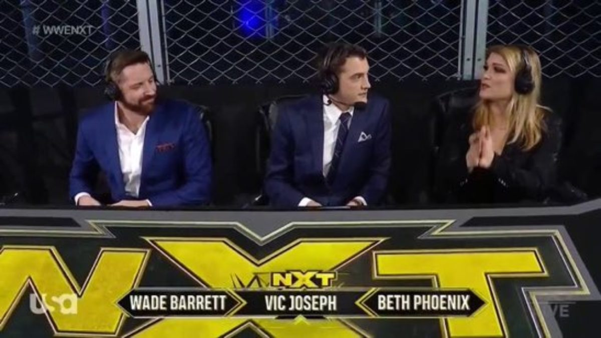 Updated Card for Next Week's Episode of WWE NXT