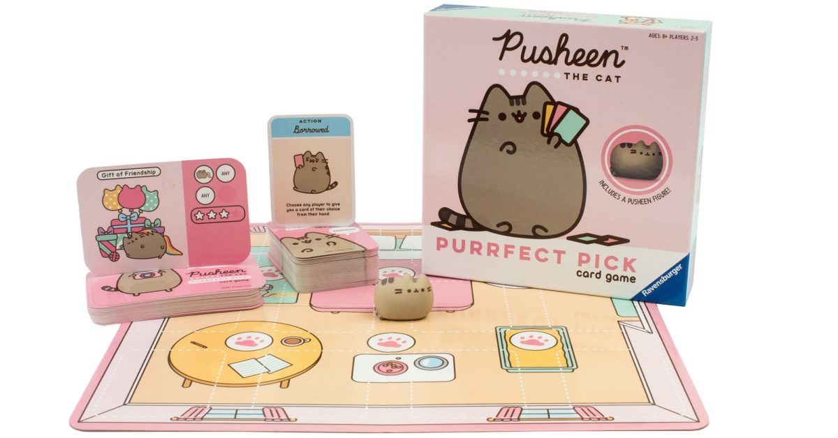 Ravensburger Has Launched The Pusheen Purrfect Pick Card Game - Bleeding Cool News