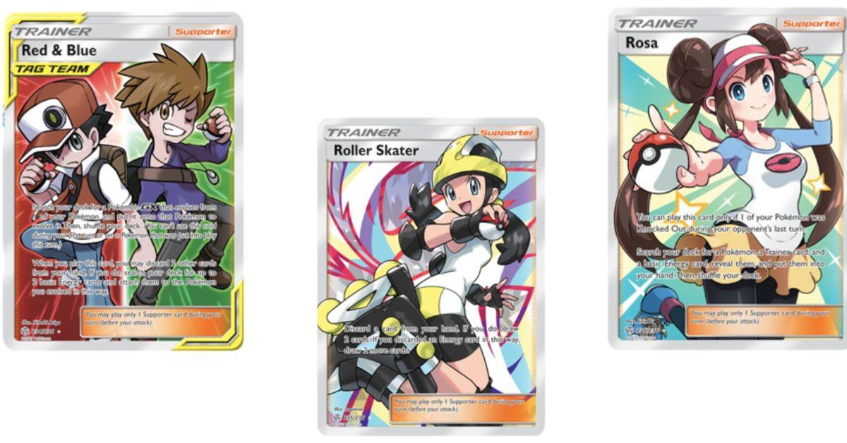 The Full Art Trainer Cards Of Pokémon TCG: Cosmic Eclipse Part 3 - Bleeding Cool News