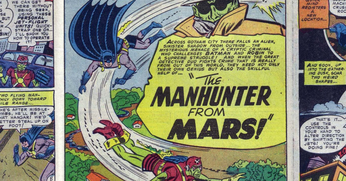 The First Appearance of the First Martian Manhunter Up for Auction