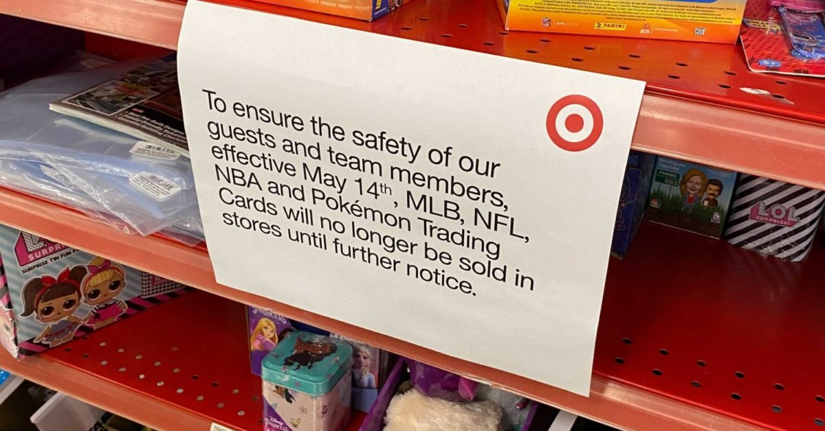 Target Stores To Halt Sales Of All Trading Cards From May 14th Forward