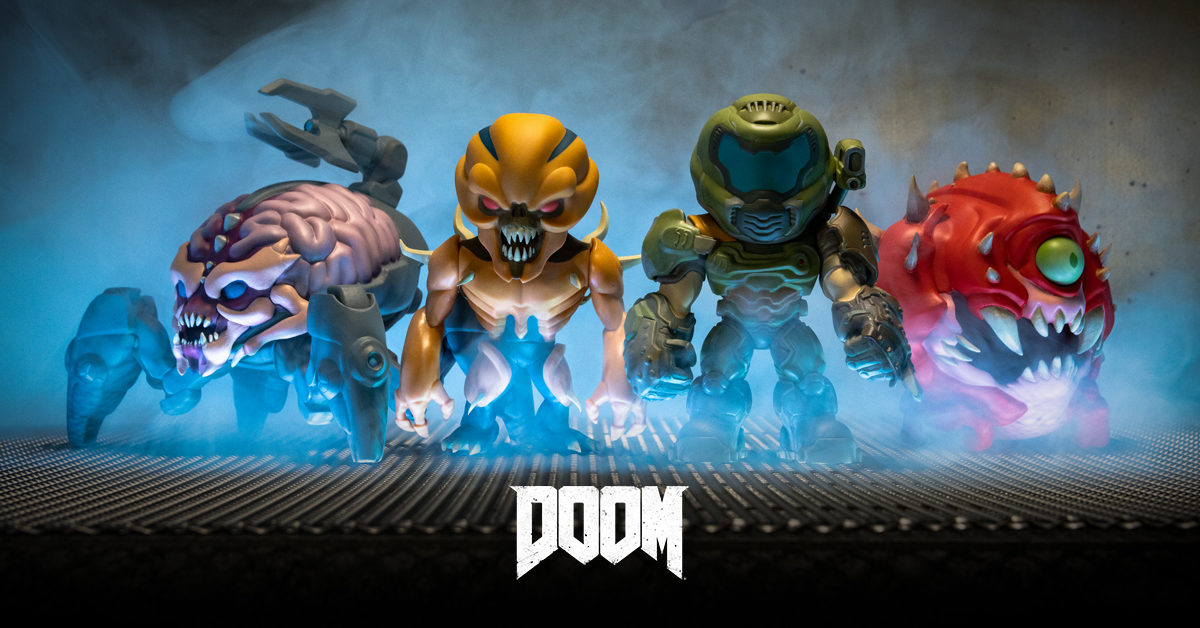 DOOM Eternal In-Game Collectibles Come to Life With Numskull