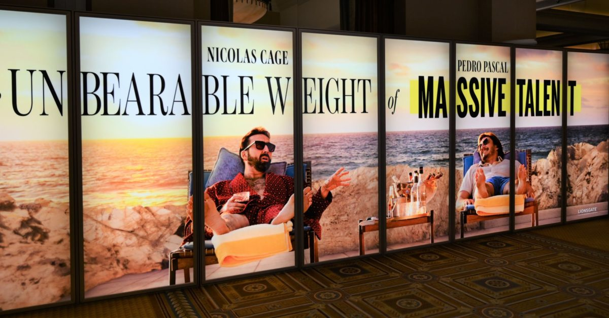 The Unbearable Weight of Massive Talent Shows New CinemaCon Poster - Bleeding Cool News