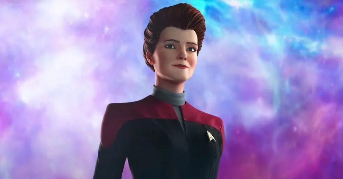 Star Trek: Prodigy: Kate Mulgrew's Hologram Janeway Meets The Crew