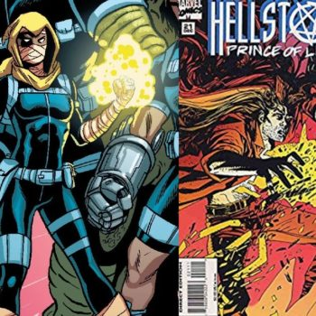 Will Marvel Announce TV Shows Based on Hellstorm and Glyph?