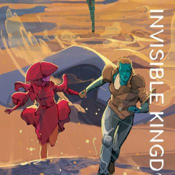 Grix and Vess Team up Against LUX in 'Invisible Kingdom' #3 (REVIEW)