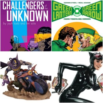 DC Comics Cancels Challengers Of The Unknown, Hard Traveling Heroes, and Engines Of Chaos Batman Statue