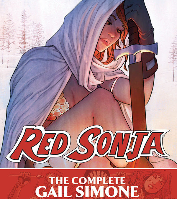 Gail Simone and Walter Geovani's Red Sonja Collected in Hardcover Omnibus