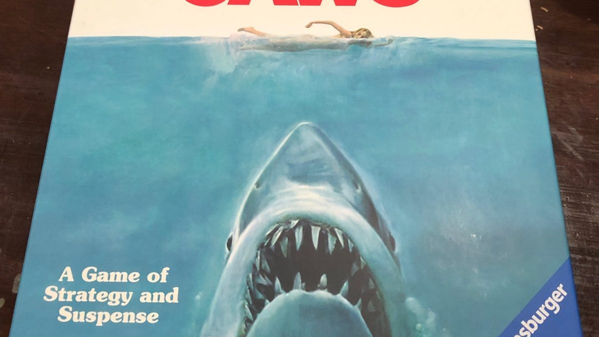 "Review: ""Jaws"" The Board Game by Ravensburger"