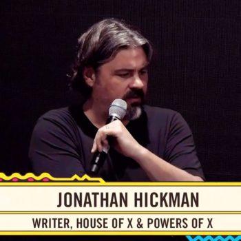 Jonathan Hickman Talks X-Men at San Diego Comic-Con