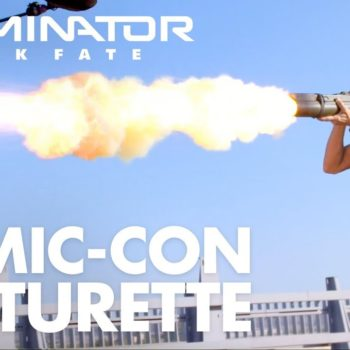 "Check Out the ""Terminator: Dark Fate"" Featurette from the #SDCC Panel"