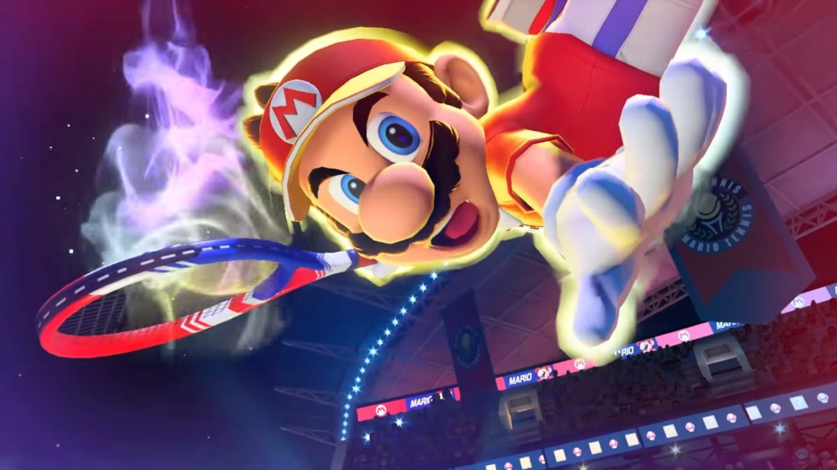 """Mario Tennis Aces"" Will Be Free To Play For A Week In August"