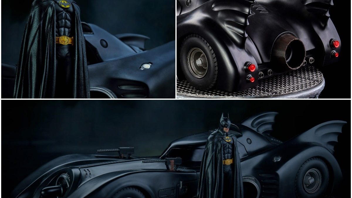 """Batmobile 89"" Hits the Streets Again With New Iron Studios Art Scale"