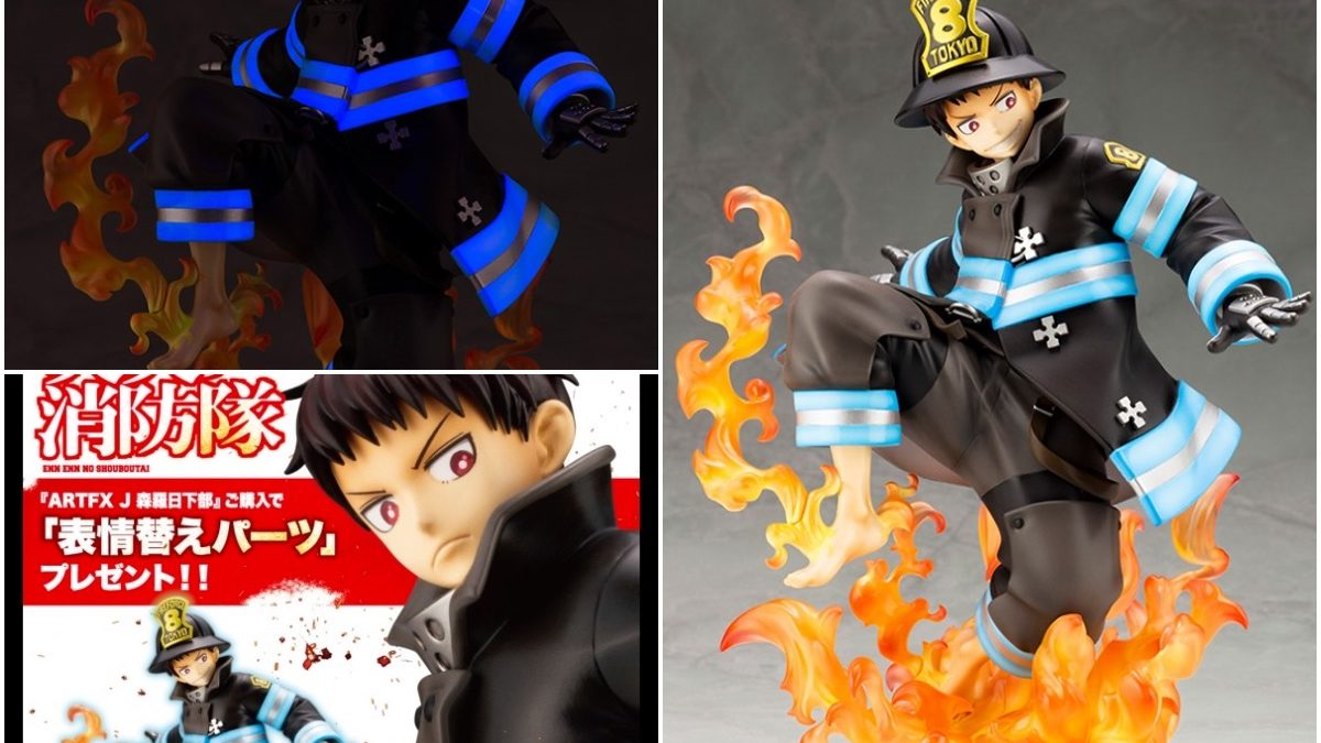 """Fire Force"" Arrives on Scene with New Kotobukiya Statue"