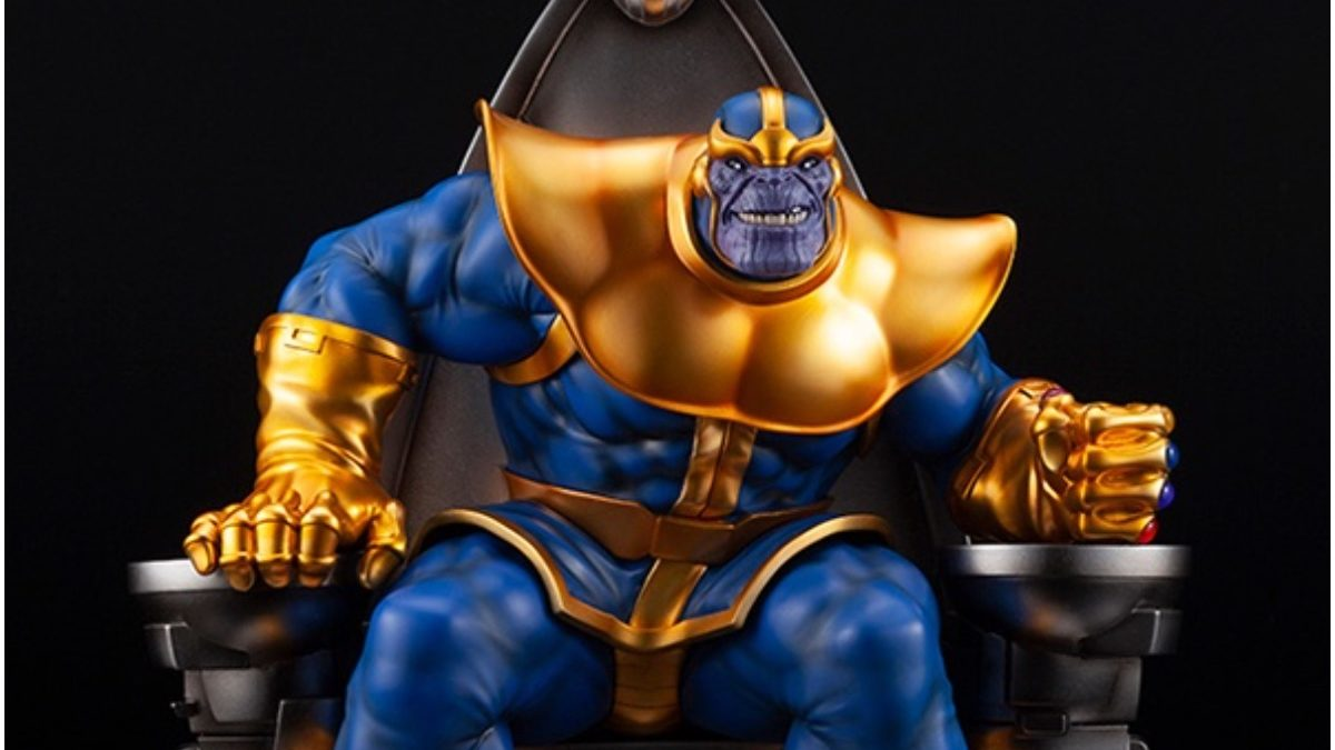Thanos the Mad Titan Returns with New Statue from Koyobukiya
