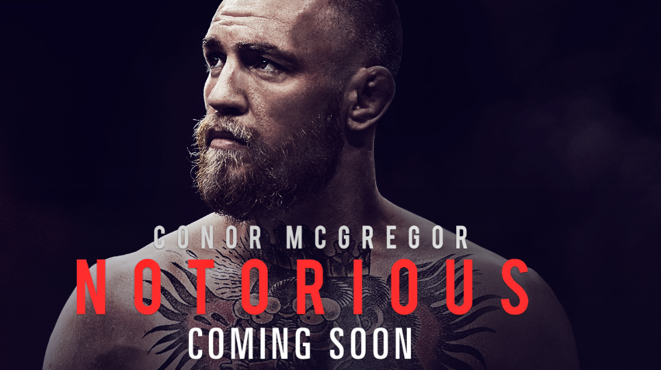 Conor McGregor Documentary Notorious Hits Theaters...For One Day
