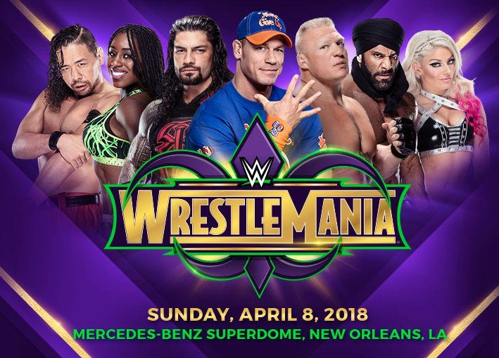 WWE Announces WrestleMania Ticket Presale Code; First Tickets On Sale Wednesday