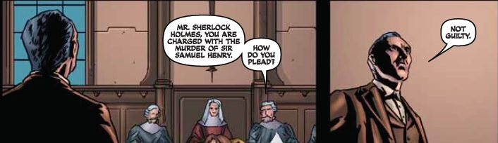 REVIEW: Sherlock Holmes #5 by John Reppion, Leah Moore