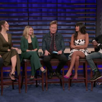 'Conan': The Cast of 'The Good Place' Talk Topless Chidi, Tahani/Eleanor and More [VIDEO]